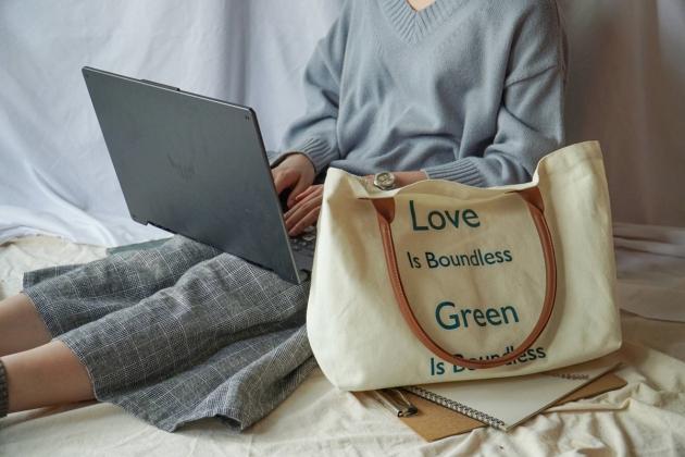 愛環保無界線 ‧ 帆布環保袋 3