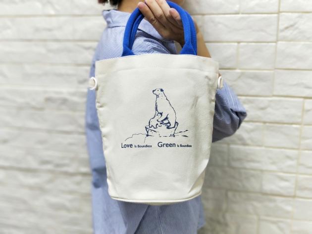 北極熊 ‧ 愛環保帆布袋(無庫存) 2